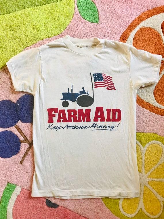Vintage Original Farm Aid 1985 tee