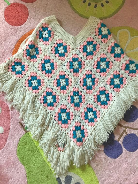 Dreamy crochet poncho
