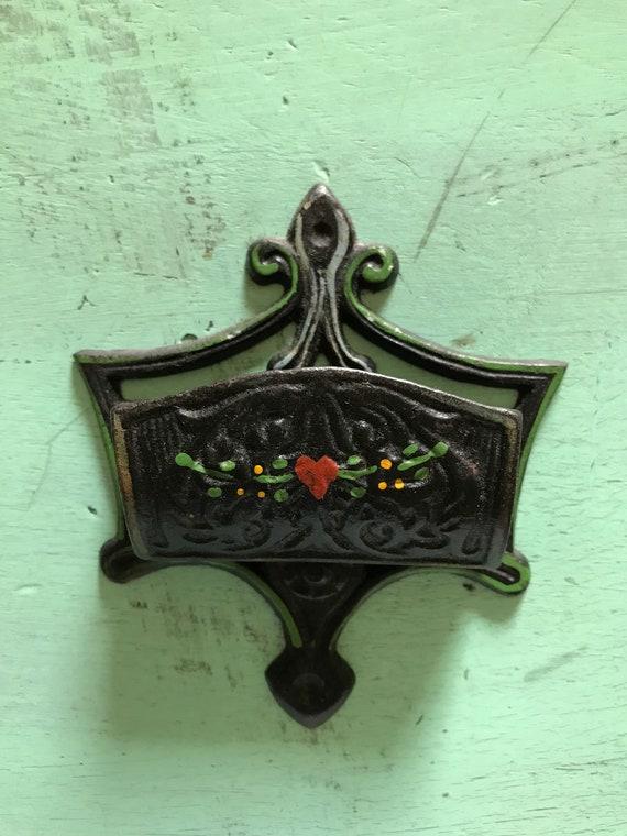 Cast iron matches holder