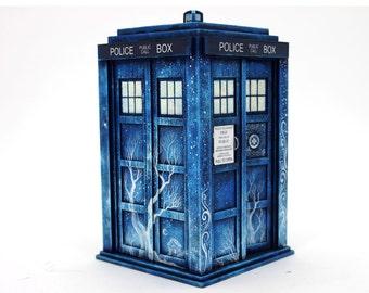 Doctor Who Tardis Wood Box