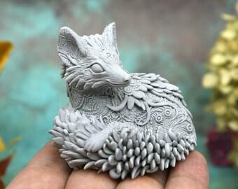 PRE-ORDER Paintable Fox Figurine