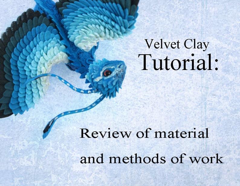 Tutorial Velvet Clay Sculpture Christmas Ball and Bonuses image 0