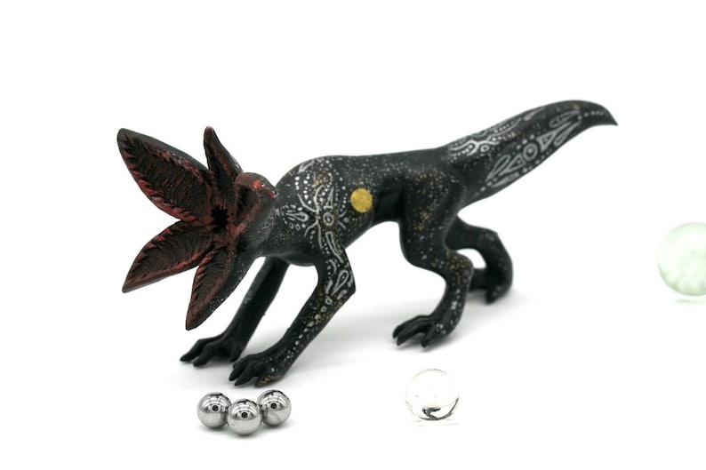 Demogorgon Stranger Things Demodog Dart Figurine Alien Sculpture Sci Fi Show Stranger Things Eleven Halloween Monster Polymer Clay Creature