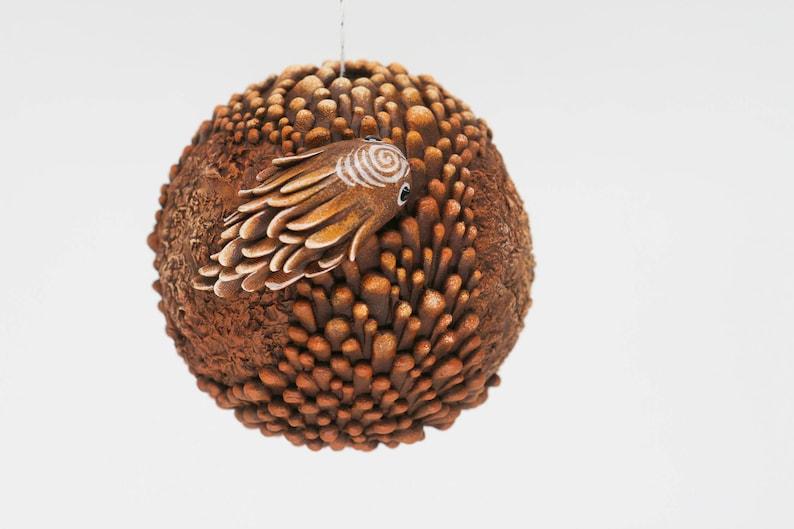Christmas Tree Pomander Ball  Fantasy Forbidden Alien Fruit image 0