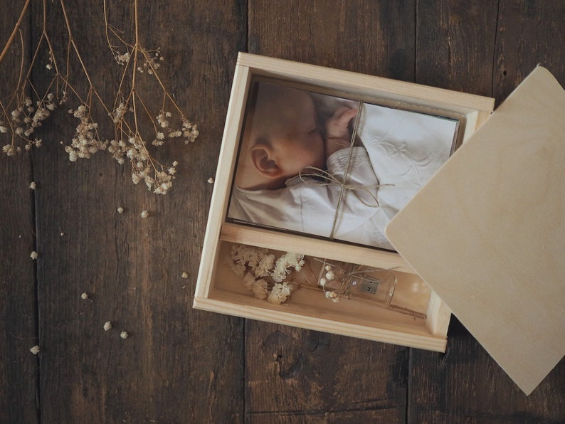 PHOTO&USB box for 4 x6 10x15cm prints with image 0