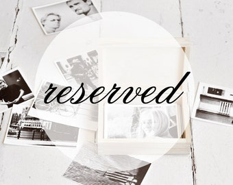 RESERVED - set of 20 photo boxes 10,4 x 16 cm internal size WITH LOCK
