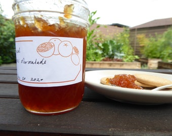 6 Labels for Jam and Homemade Treats