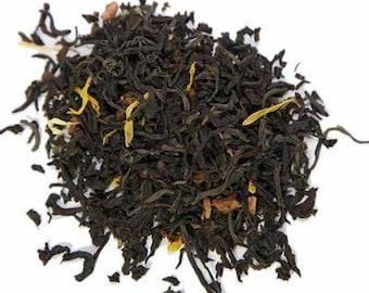 Pumpkin Spice Organic Hemp Tea  Black Tea   Infused Tea  Apple Tea  Handmade Tea  Marijuana Tea
