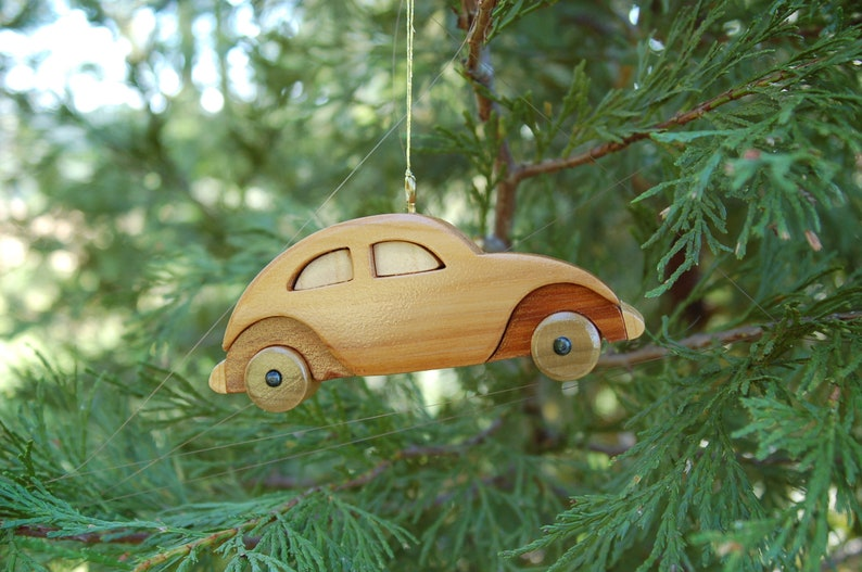 VW CAR Christmas Ornament.  New for 2019.   For your favorite image 0