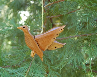 DUCK CHRISTMAS ORNAMENT Carving.   Perfect for the duck hunter in your family