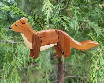 OTTER Christmas Ornament. New for 2021.  Truly a unique addition to your tree.