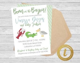 gator birthday invitation alligator invitation buffalo plaid plaid alligator baby shower invitation gingham invitation