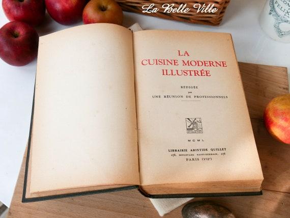 Vintage French Cookbook La Cuisine Moderne Librairie | Etsy