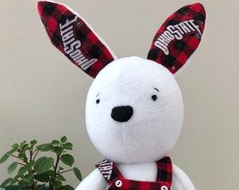 Huggable Fleece OSU Bunny