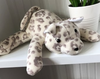 Huggable, Lovable Fleece Puppy