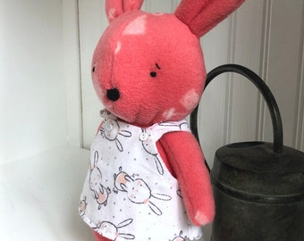 Huggable, Lovable Fleece Bunny