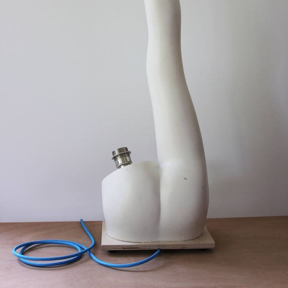 Schaufensterpuppe Mannequin Lampe Bein Stehleuchte | Etsy