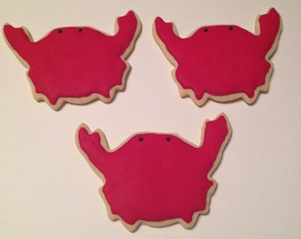 Crab Sugar Cookies