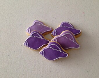 2 dozen Mini Conch Shell Sugar Cookies