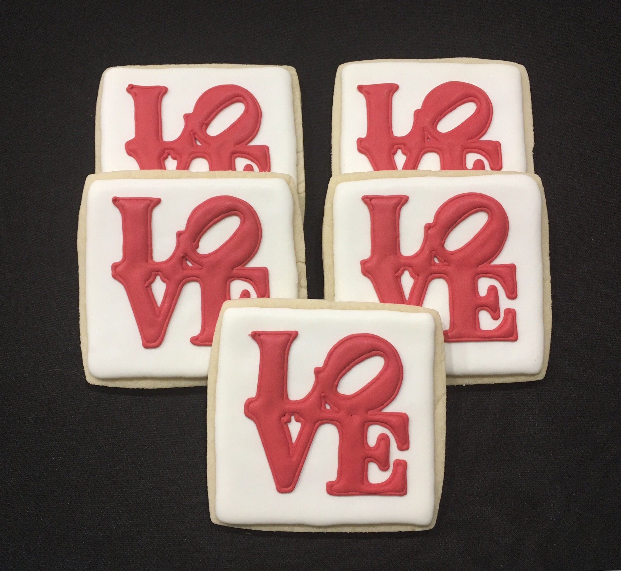 Philly Love Park Symbol Sugar Cookies Etsy