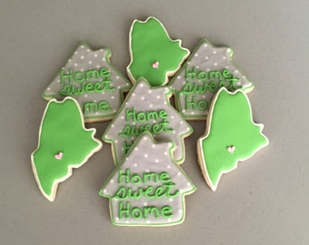 Home Sweet Home / House Warming Sugar Cookies
