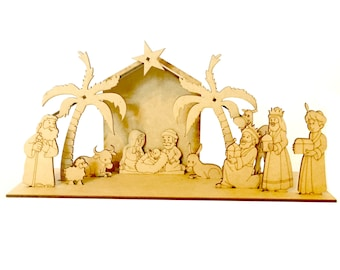 MDF Big Size, Nativity