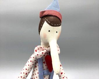 Tilda Pinocchio Doll
