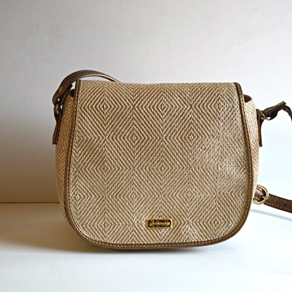 eeeabda29896 Women s Claiborne Shoulder Hand Bag Gold Beige Hand Bag