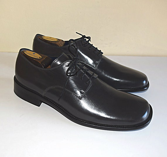men s italian dress shoes size 9 m made in italy shoes l etsy