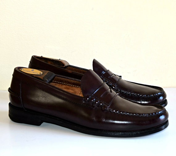 2c5a4849720 Men s Florsheim Size 9 M Shoes Dark Brown Penny Loafers