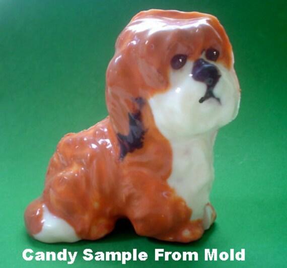 Coloriage Chien Lhassa Apso.Lhassa Apso Lhassa Apso Candy Moule Moule A Chocolat 3d Etsy