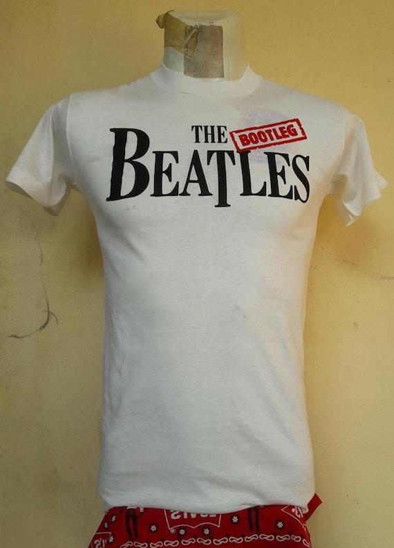 VINTAGE THE BEATLES bootleg T-shirt