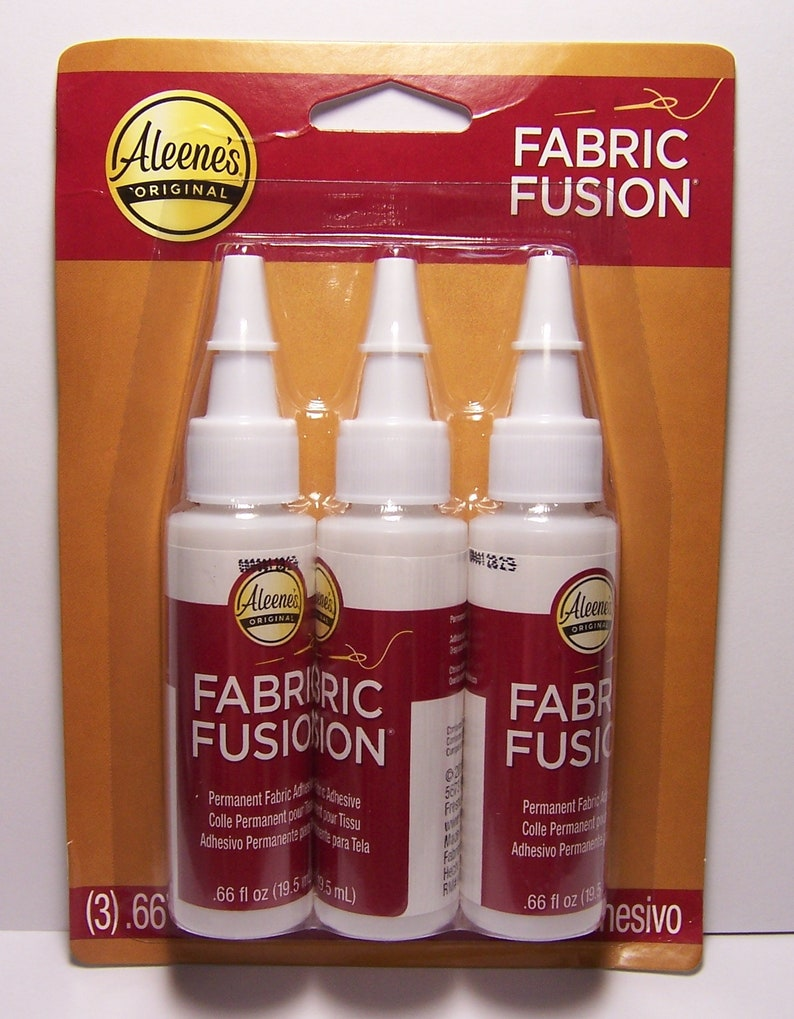ce721846523a Aleene s Fabric Fusion Permanent Fabric Adhesive Washable