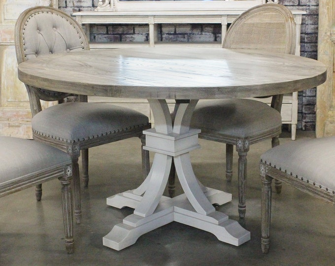 Featured listing image: Canterbury Flared Round Pedestal Table