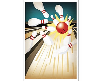 Bowling Poster
