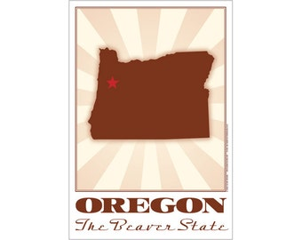 Oregon State Poster