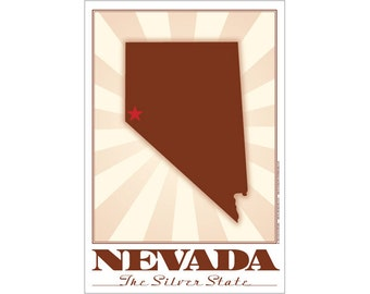 Nevada State Poster
