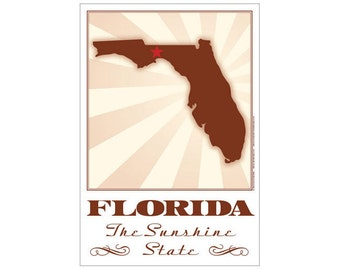Florida State Poster