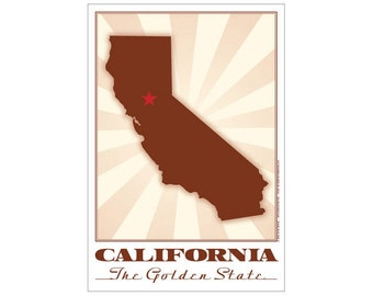 California State Poster