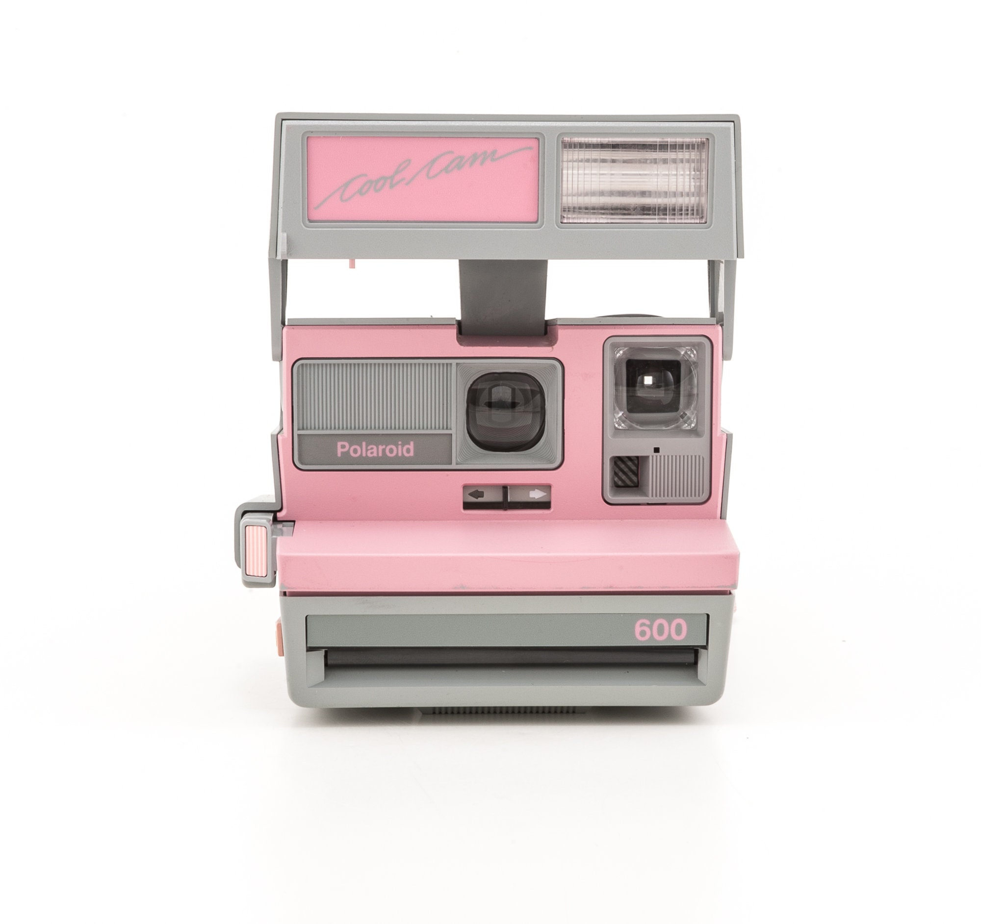 Polaroid 600 Cool Cam Pink & Grey Instant Camera - Tested and in Working  Condition