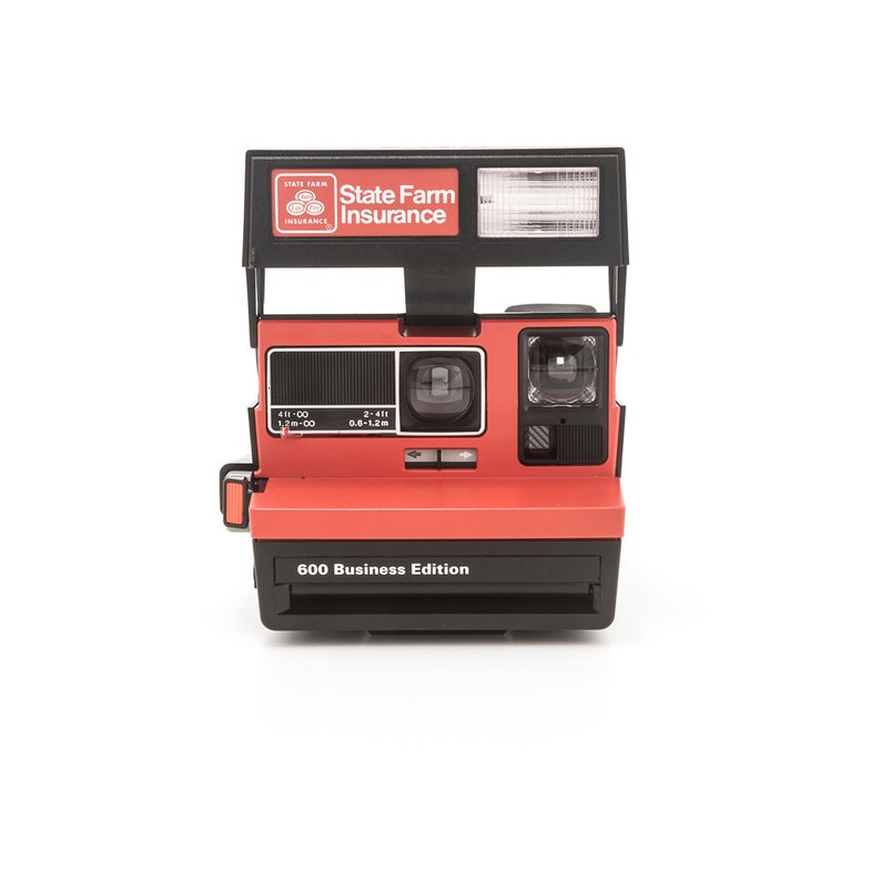 Polaroid 600 State Farm Insurance Business Edition Instant image 0