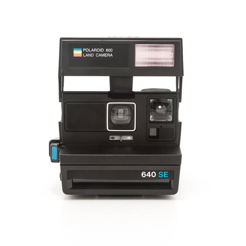 Polaroid 640 SE Land Camera  Tested and Working  Polaroid image 0