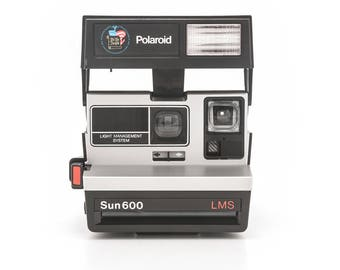 Polaroid Sun 600 LMS Light Management System - Bicentennial Limited Edition - Film Tested and Working Special Limited Edition Rare Polaroid