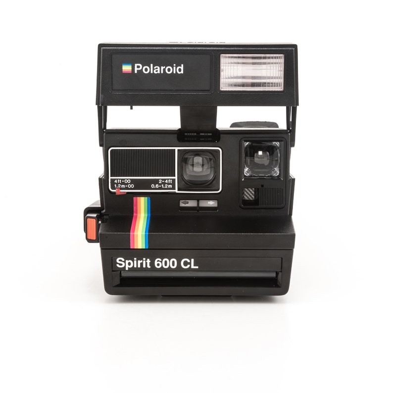 Polaroid Spirit 600 CL Instant Camera  Tested Cleaned and in image 0