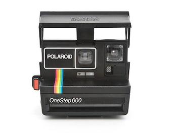 Polaroid 636 CloseUP instant camera - Tested - Working vintage 80s Polaroid 600 film