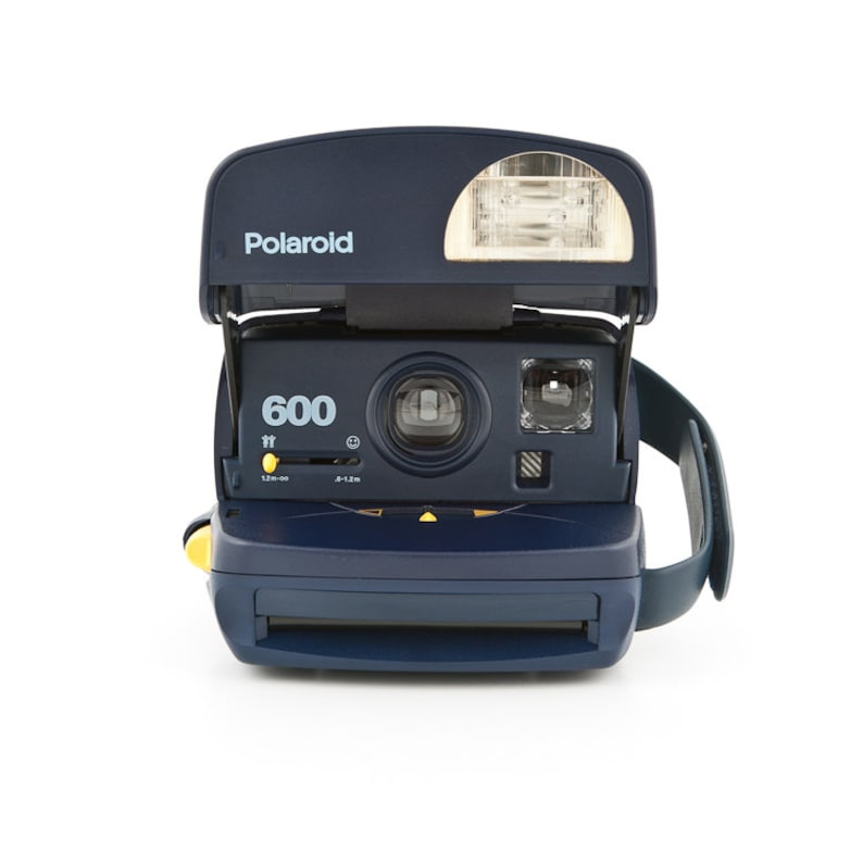 Polaroid 600 Blue Instant Camera  Film Tested and Working  image 0
