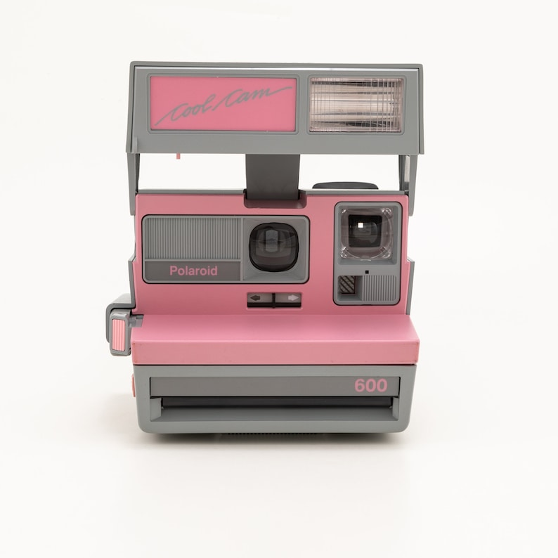 Polaroid 600 Cool Cam Pink & Grey Instant Camera  Tested and image 1