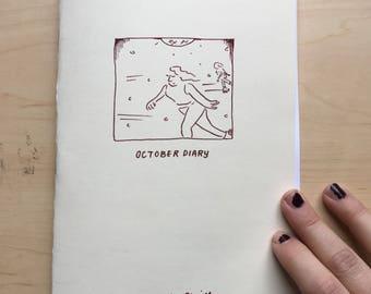 October Diary Minicomic