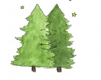 Pine for You Greeting Card