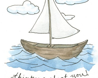 Thinking Aboat You Greeting Card